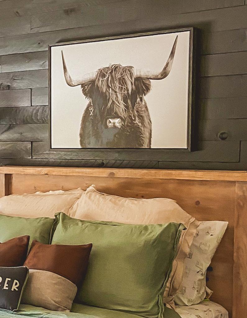 modern farmhouse boy room